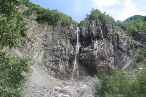 Ilisu Waterfall, Ilisu, Azerbaijan