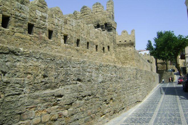 Fortress Walls of Icheri Sheher, Baku, Azerbaijan