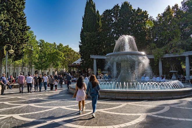 Fountains Square, Baku, Azerbaijan
