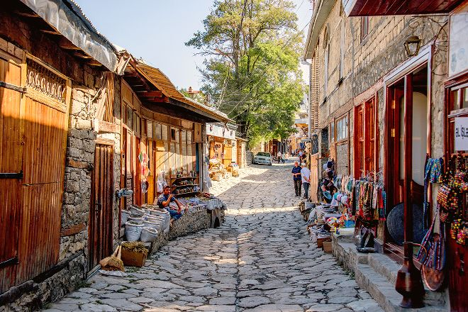 Lahij Central Street, Lahij, Azerbaijan