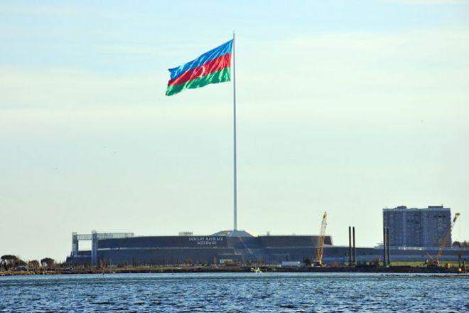 National Flag Square, Baku, Azerbaijan