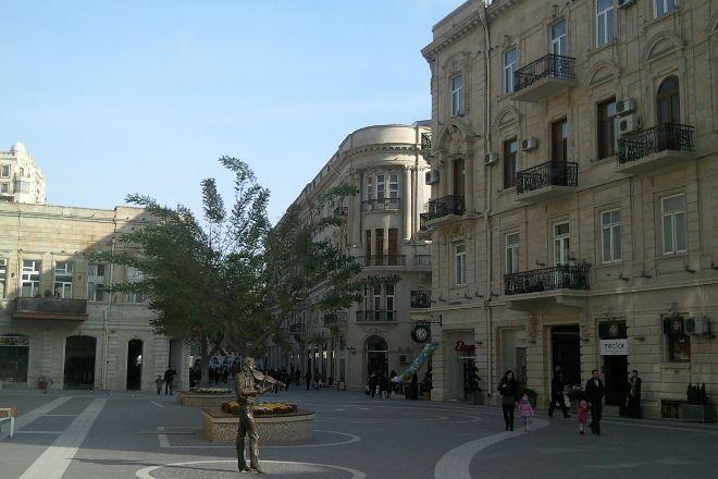 Statue of the Violinist, Baku, Azerbaijan