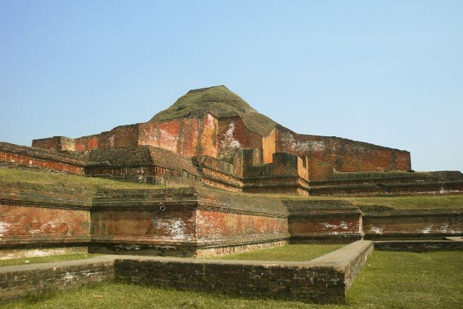 Ruins of the Buddhist Vihara at Paharpur, Paharpur, Bangladesh