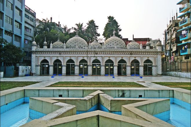 Star Mosque (Tara Masjid), Dhaka City, Bangladesh