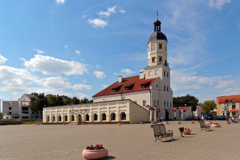 City Hall in Nesvizh, Nesvizh, Belarus