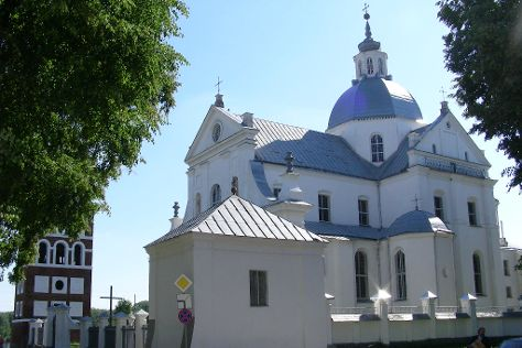 Corpus Christi Church in Nesvizh, Nesvizh, Belarus