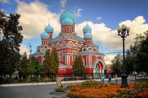Holy Resurrection Cathedral, Barysaw, Belarus