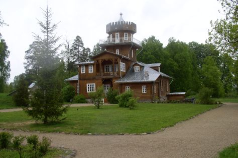 Repin's country house in Zdrawneva, Ruba, Belarus