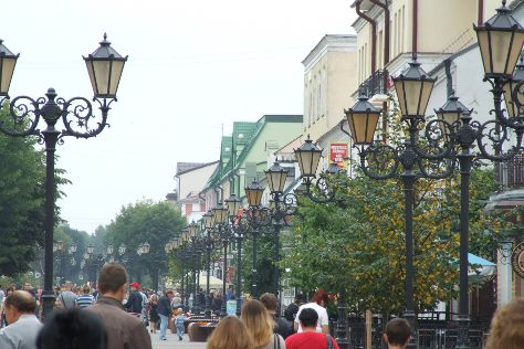 Sovetskaya Street, Brest, Belarus