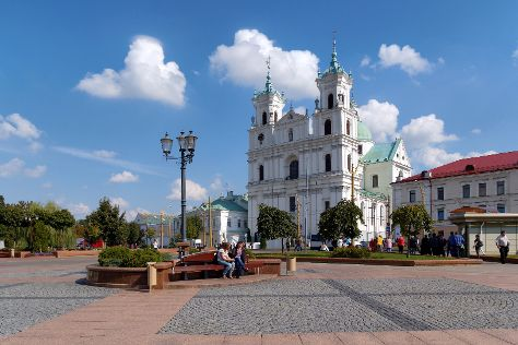 The Jesuit Catholic Church, Grodno, Belarus