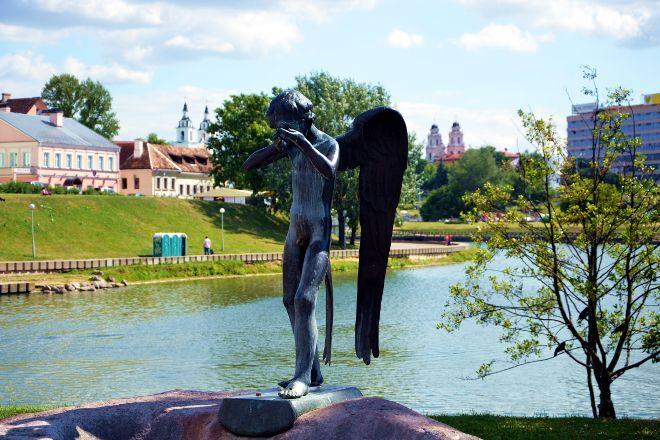 Crying Guardian Angel, Minsk, Belarus