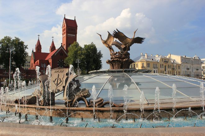 Fountain of Independence, Minsk, Belarus