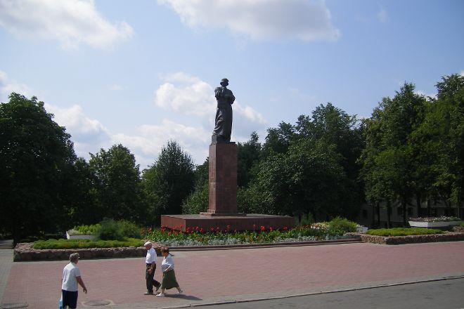 Francysk Skaryna Statue, Polotsk, Belarus