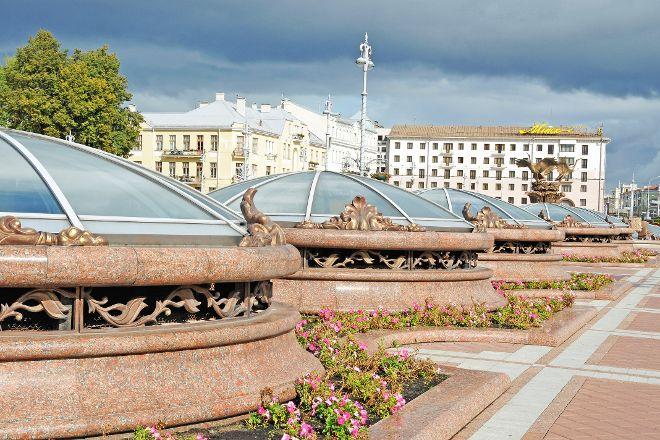 Independence Square, Minsk, Minsk, Belarus