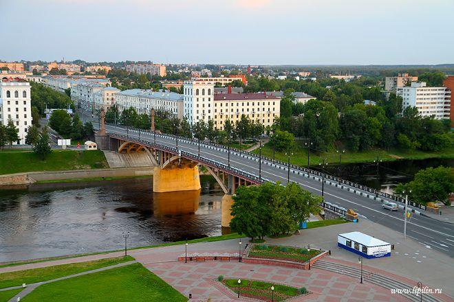 Kirovskiy Bridge, Vitebsk, Belarus