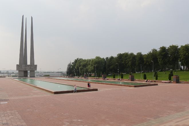Memorial Complex Three Bayonets, Vitebsk, Belarus