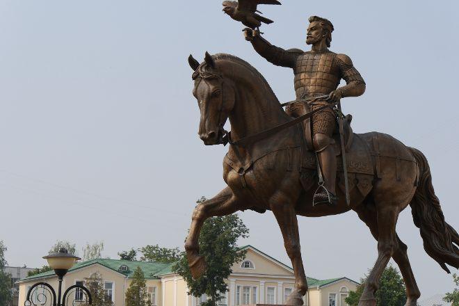 Monument to the Great Duke Algirdas, Vitebsk, Belarus