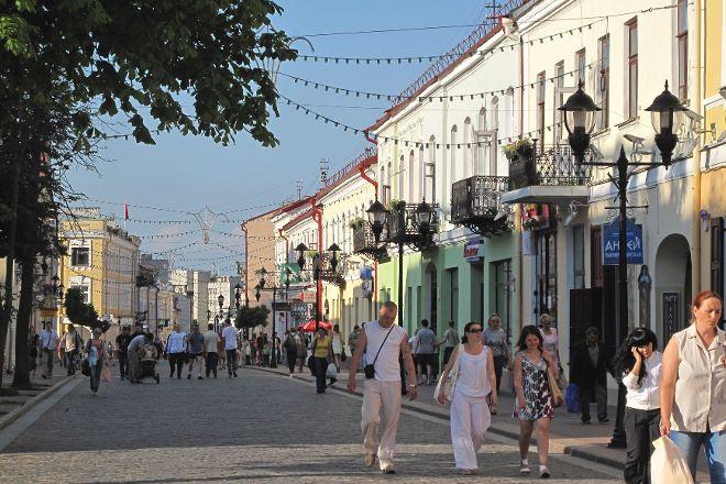 Sovetskaya Street, Grodno, Belarus