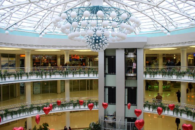 Stolitsa Underground Mall, Minsk, Belarus