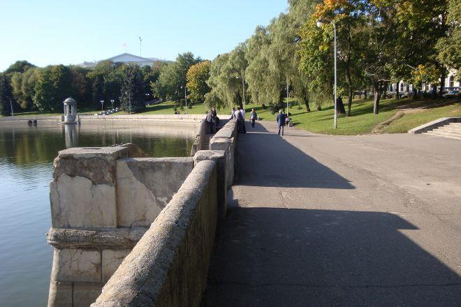 Svislach River Embankment, Minsk, Belarus
