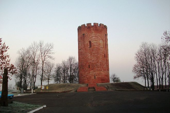 Tower of Kamyanyets, Kamyanyets, Belarus