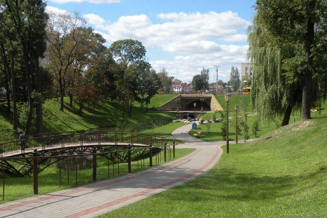 Zhiliber's Park, Grodno, Belarus