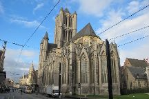St. Nicholas' Cathedral, Ghent, Belgium
