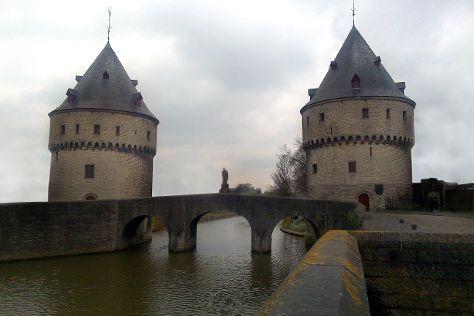 Broel Towers, Kortrijk, Belgium