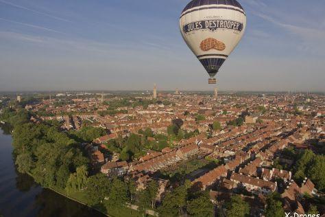 Bruges Ballooning, East Flanders Province, Belgium