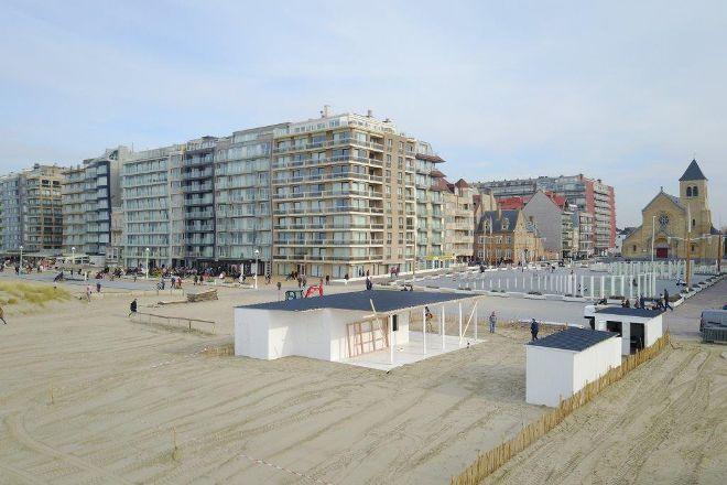 Barza Beach, Nieuwpoort, Belgium