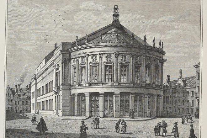 Bourla Theater (Bourlaschouwburg), Antwerp, Belgium