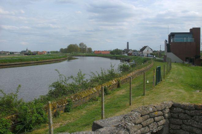 Dodengang (Trench of Death), Diksmuide, Belgium