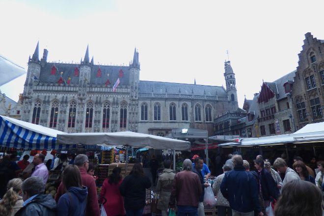 Farmer's Market Market, Bruges, Belgium