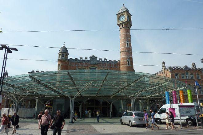 Gent-Sint-Pieters Railway Station, Ghent, Belgium
