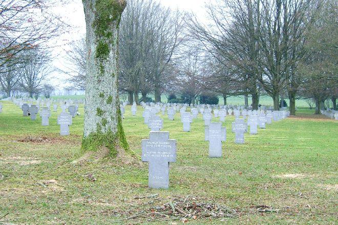 German War Cemetery, Recogne (Bastogne), Belgium