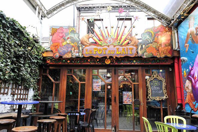 Le Pot au Lait, Liege, Belgium