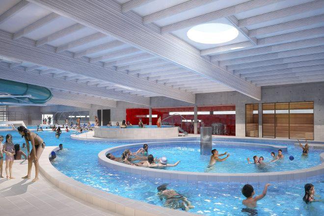 Sport- en Recreatiebad De Kouter, Poperinge, Belgium