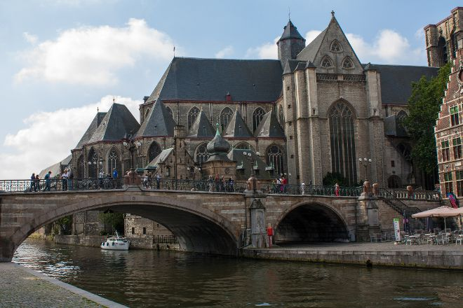 St Michael's Bridge, Ghent, Belgium