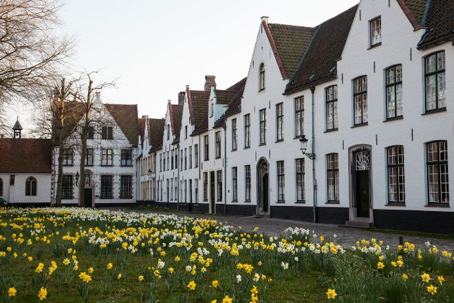 The Princely Beguinage Ten Wijngaarde, Bruges, Belgium