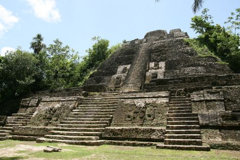 Lamanai Archaeological Reserve, Orange Walk District, Belize