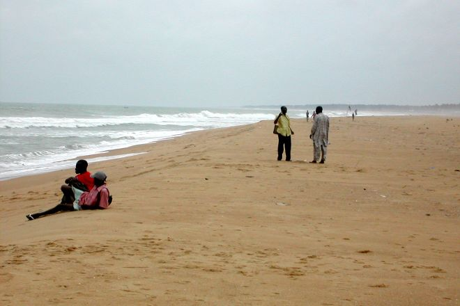 Fidjrosse Beach, Cotonou, Benin