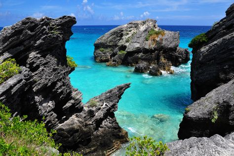 Jobson's Cove Beach, Warwick Parish, Bermuda