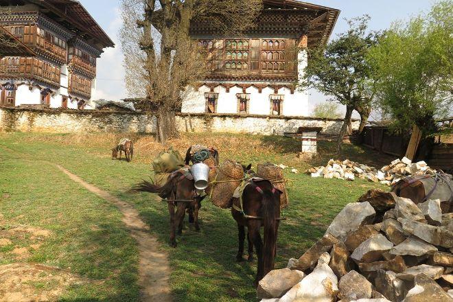 Ogyen Choling Palace Museum, Jakar, Bhutan