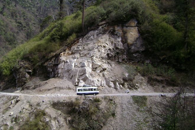Yutong La Pass, Trongsa, Bhutan