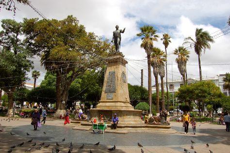Plaza 25 de Mayo, Sucre, Bolivia