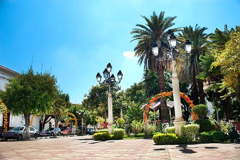 Plaza Luis de Fuentes, Tarija, Bolivia