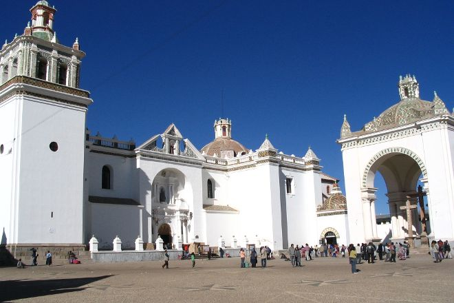 Basilica of Our Lady of Copacabana, Copacabana, Bolivia