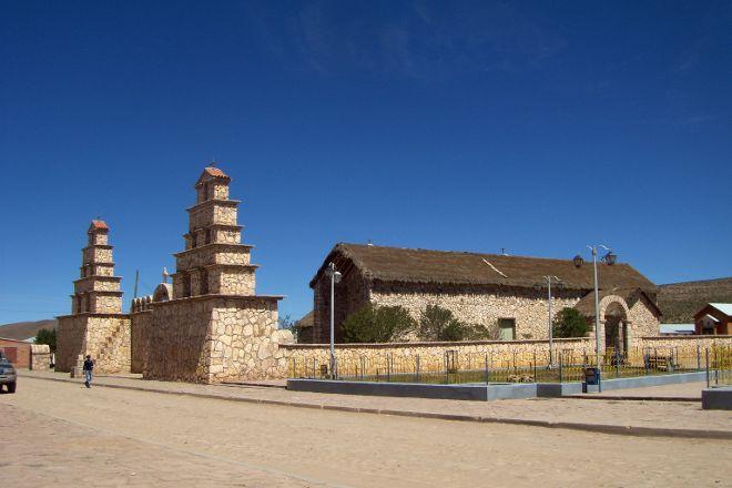Iglesia San Cristobal Lipez, Uyuni, Bolivia