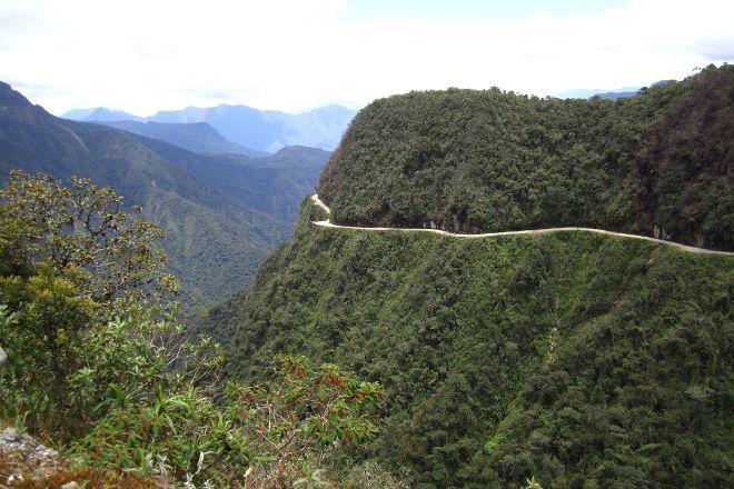 WMDR Yungas Road, La Paz, Bolivia