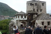 War Photo Exhibition, Mostar, Bosnia and Herzegovina